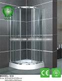 贅沢な専門のアルミ合金フレーム8mmのガラスシャワー機構