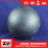 Bille de moulage d'acier du carbone de fer d'usine de la Chine pour le broyeur à boulets