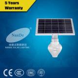 Bewegungs-Fühler aller in einem integrierten Solarstraßenlaterne
