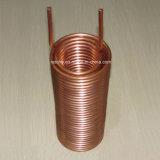 Aço inoxidável e câmara de ar refrigerando de cobre