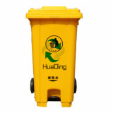 [240ل] خانة بلاستيكيّة خارجيّة مطّاطة عجلة نفاية علبة لأنّ خارجيّة