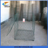 六角形ワイヤー網のGabionボックス2X1X1 Gabion網(Anpingの工場)
