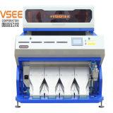 Vsee RGBプラスチックリサイクル機械セレクタによって押しつぶされるプラスチックカラー選別機