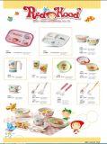 Плита 100% серии Dinnerware-Малышей меламина разделенная дет (MRH18002)