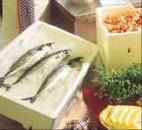 Коробка Thermocol коробки рыб коробки EPS изолированная машиной