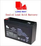 6V10 de Batterij van VRLA voor de Zure Batterij van het Lood van de Systemen van de Noodsituatie van het Systeem van het Alarm zonder Onderhoud wordt gebruikt dat