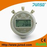 Cronômetro profissional do metal do termômetro (JS-6618)