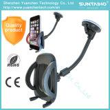 Support 6028 de téléphone de véhicule de stand de support de pare-brise d'aspiration de support de portable de 360 rotations