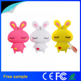 Lovely conejo USB Flash Drive PVC USB Memory Stick