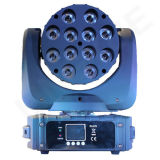 Ce RoHS DMX Chine 12X12W LED Moving Head Light avec Zoom