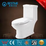 Toilette fixée au sol d'Elegated de lavage à grande eau de vente chaude (BC-1312)