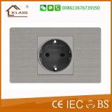 Стенная розетка 110V-250V цены 3pole самого дна