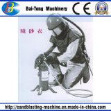 Sandblasting o capacete de proteção da proteção protetora