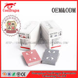 Tarjetas que juegan de papel del casino