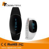 Bluetoothのスマートなスポーツ電気LEDのシリコーンの時計用バンド