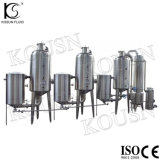 Evaporatore del condensatore del latte della latteria di vuoto dell'acciaio inossidabile