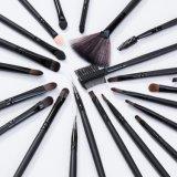 Fabbrica di legno nera degli insiemi di spazzole di trucco delle spazzole di capelli di Natual della maniglia 32PCS