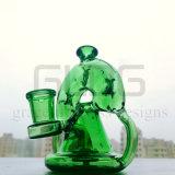 Großverkauf 3, 4, 5, 6, 7, 8 Zoll der kleine KLEKS stellt Recycler-Glaswasser-Rohr ein