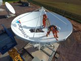 de 7.3m Vaste SatellietAntenne van Rxtx van het Grondstation