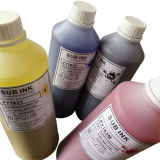 Concurrerende Prijs 6 Inkt van de Sublimatie van Kleuren 1L/Bottle de Textiel voor Hoofden dx-4/5/7 van Af:drukken Epson