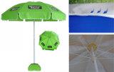 côtes en acier de l'UV-Protection 8 du polyester 180g annonçant le parapluie de plage