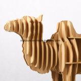 Tabela de madeira do lado do camelo dos ofícios