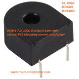 2500 : 1 carte verticale de 70A 100ohm 0.1calss montant le transformateur de courant Zmct116W