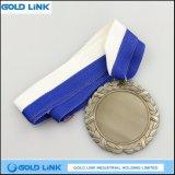 Médaillon de trophée de pièce de monnaie d'enjeu de médaille en métal de récompense de la coutume 3D de souvenir