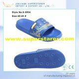 Unisexe EVA Sole et Foam Space PU Imprimé Upper Flat Bathroom Lavable Beach Slipper