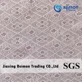 Tela de engranzamento de nylon agradável do jacquard do Spandex do projeto Zxp25510 da boa qualidade