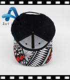 Черноты вышивки хлопка шлем 100% изготовленный на заказ выдвиженческий