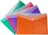 Form und praktischer bunter Büro-Doppelt-Farben-Datei-Beutel
