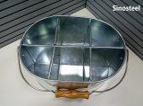 Cubo de hielo galvanizado del cubo de hielo del metal/de la mina
