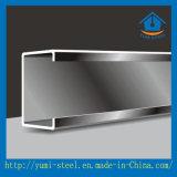 Aço de aço da seção dos Purlins C da qualidade para a telhadura do metal
