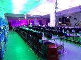 iluminación de la etapa ligera de la colada de la pared de 54PCS*3W LED