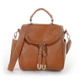 女性の本革のハンドバッグの革靴の肩の余暇のメッセンジャー袋