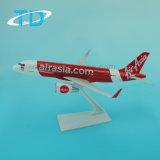 "Airasia Standaard ""Airasia. Com"" A320neo 25cm ABS de Plastic Modellen van Vliegtuigen"