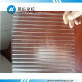 UV transparente revestido Hoja de policarbonato Hollow Policarbonato Roof