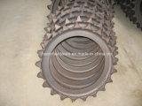 Stahlgußteil, legierter Stahl-Gussteil für Exkavator-Kettenrad