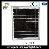 Alumbrado público solar de 60W LED que cuelga en la pared sin poste