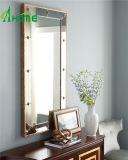 Espejo de lujo de la pared de la sala de estar para la decoración casera