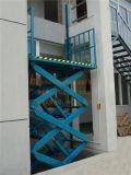 Lift van de Lading van de Schaar van het pakhuis de Stationaire Hydraulische (sjg0.5-5)