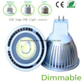 Ce intensidad regulable 5W MR16 LED
