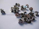4X6mm Nickel überzogene völlig Röhrenkupplungs-Einfassung-Niet