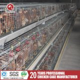 Strumentazione d'acciaio di azienda agricola del pollo del pollame della gabbia di strato della batteria