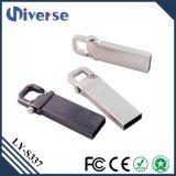 Aluminium-USB-Schlüsselplatte 1GB 4GB 8GB 16GB 32GB 64GB 128GB fördernder USB-Blitz fährt en gros für HP mit kundenspezifischem Firmenzeichen
