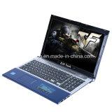 Vierling-kern Laptop/het Notitieboekje van 15.6 Duim met DVD RW