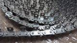 Fabbricazione bruscamente della catena di convogliatore dell'acciaio inossidabile del passo con i collegamenti