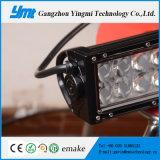 Barre simple d'éclairage LED de puce de CREE de la rangée DEL pour le camion