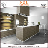 Mobilia italiana di legno della cucina personalizzata fabbrica dell'armadio da cucina